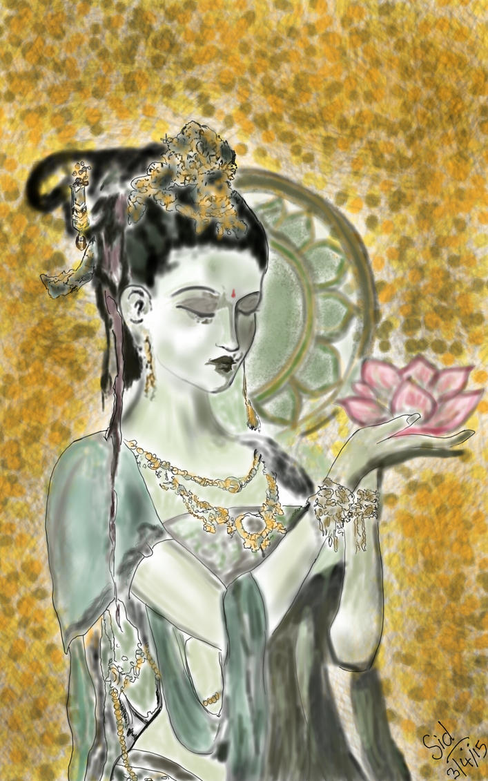 Lotus by Artandtarot