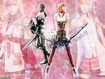 Lightning and Serah XIII and 2