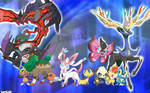 Pokemon X and Y.