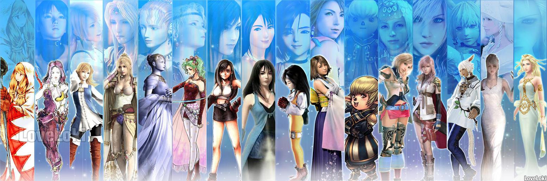 Final Fantasy girls by LoveLoki