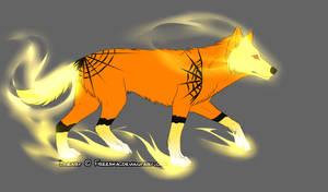 wolf halloween adoptable 2 OPEN