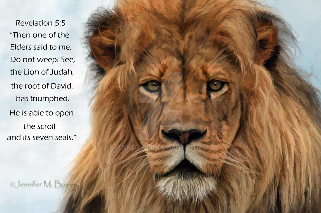 Lion Of Judah By Jennbowers On Deviantart