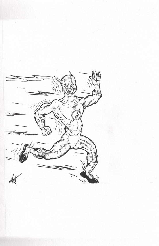 The Flash by ALaVerghetta