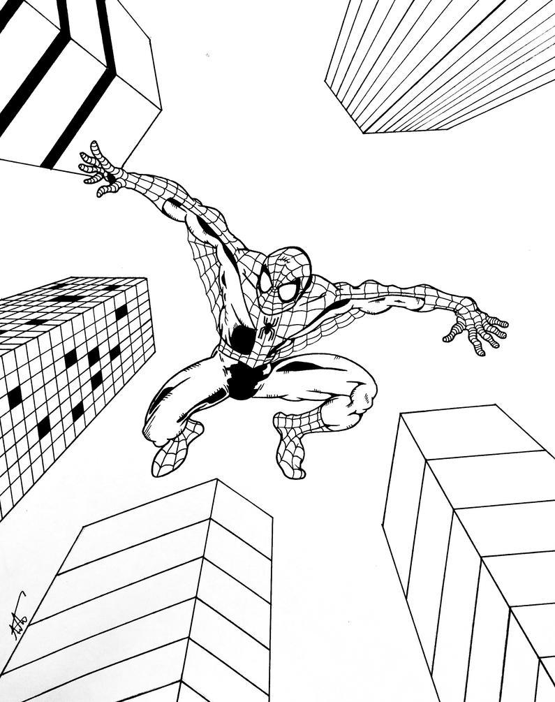 Spider-man  by ALaVerghetta