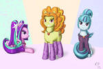 Dazzling Ponies
