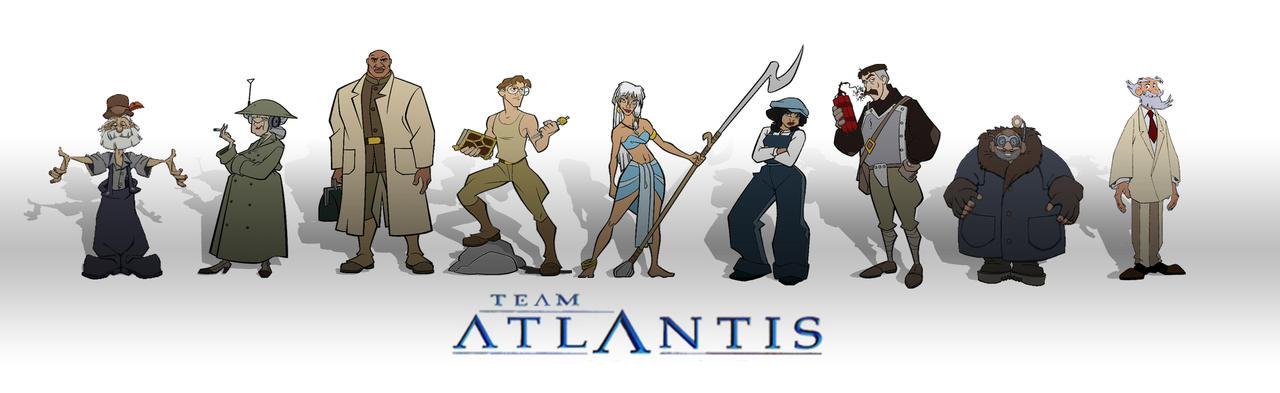 Team Atlantis by AlmaClara