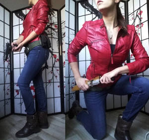 Claire Redfield is BACK