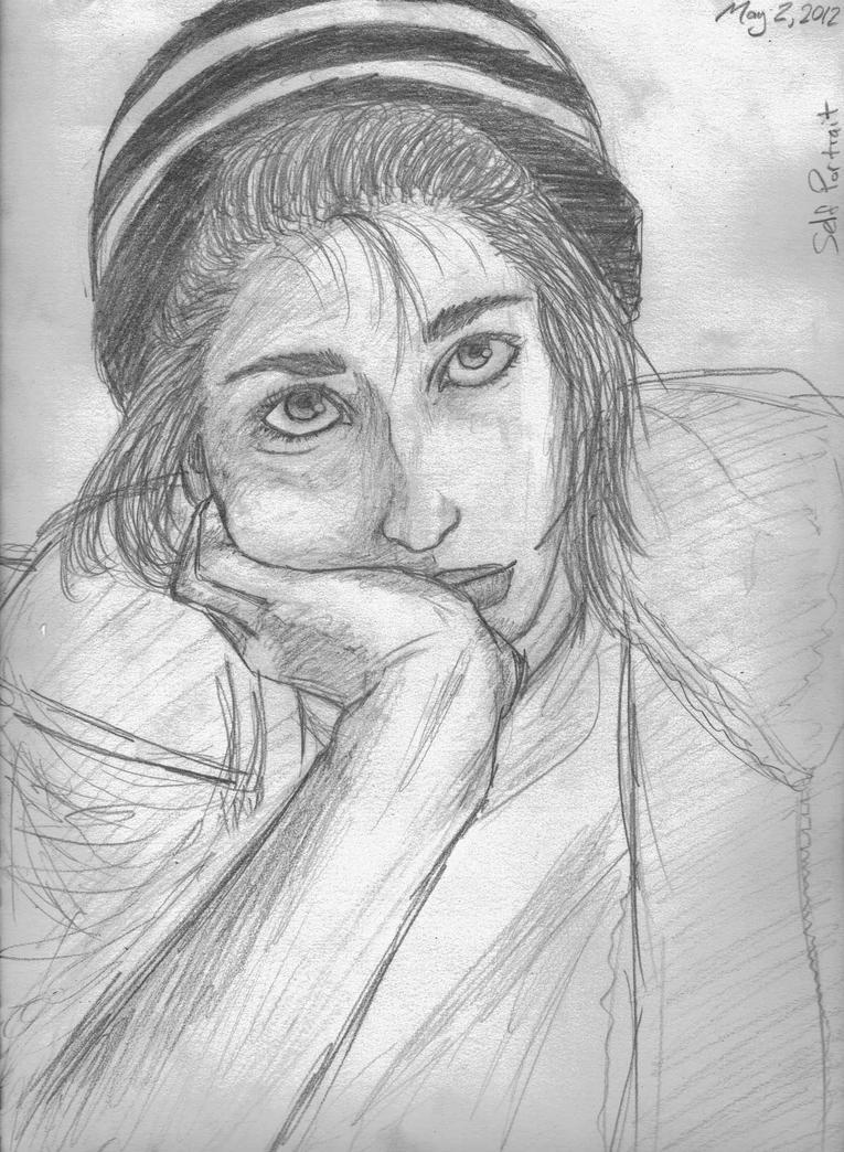 Self Portrait by bano--kagi