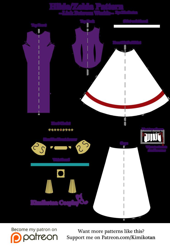 Hilda/Zelda Cosplay Pattern by Kimikotan on DeviantArt