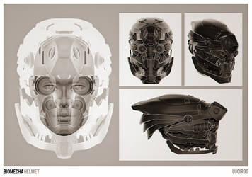 BioMecha Helmet by lucirgo
