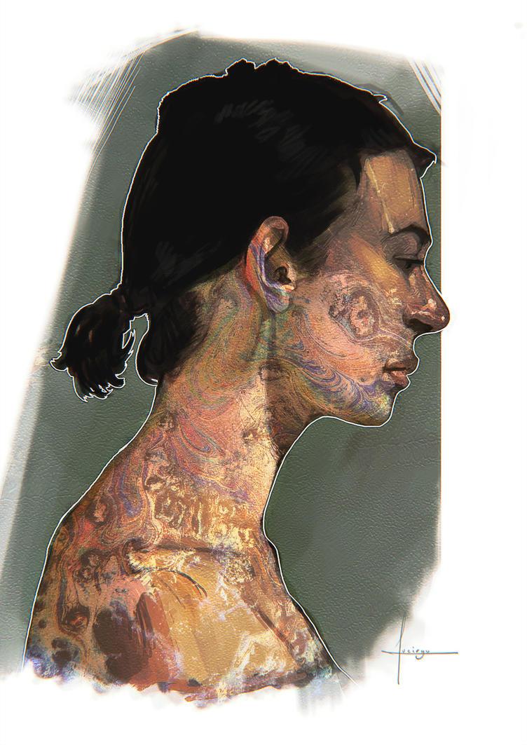 Oil Skin by lucirgo