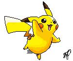 PIKACHU +pixel by lastflightout