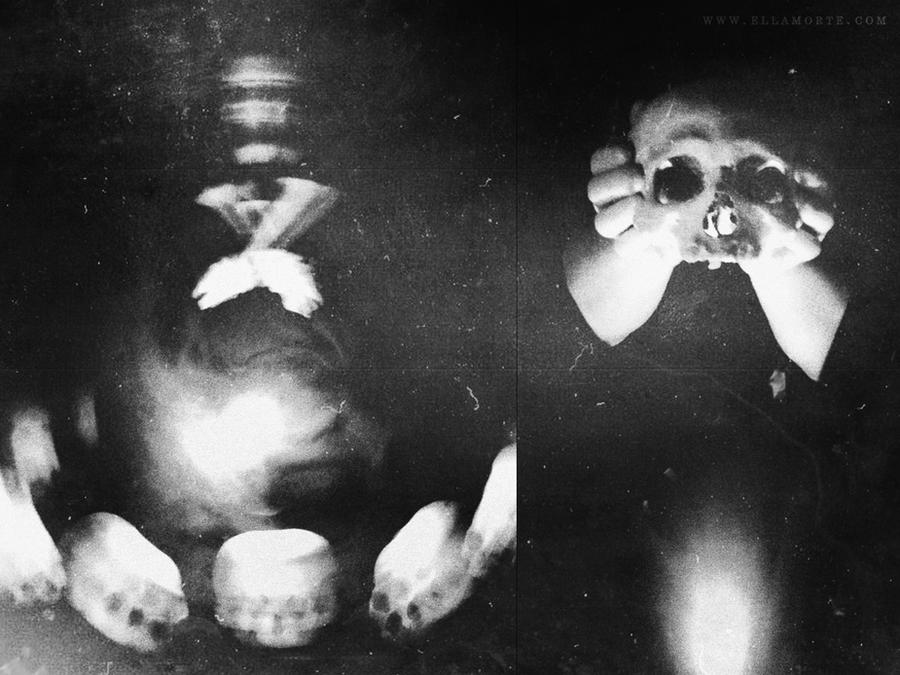 Conjuring Thanatos by Ellamorte