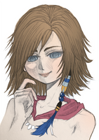 Yuna - Final Fantasy by SundayMango