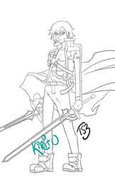 Kirito by ts3
