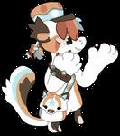(5/10) Marble Fox bagbean