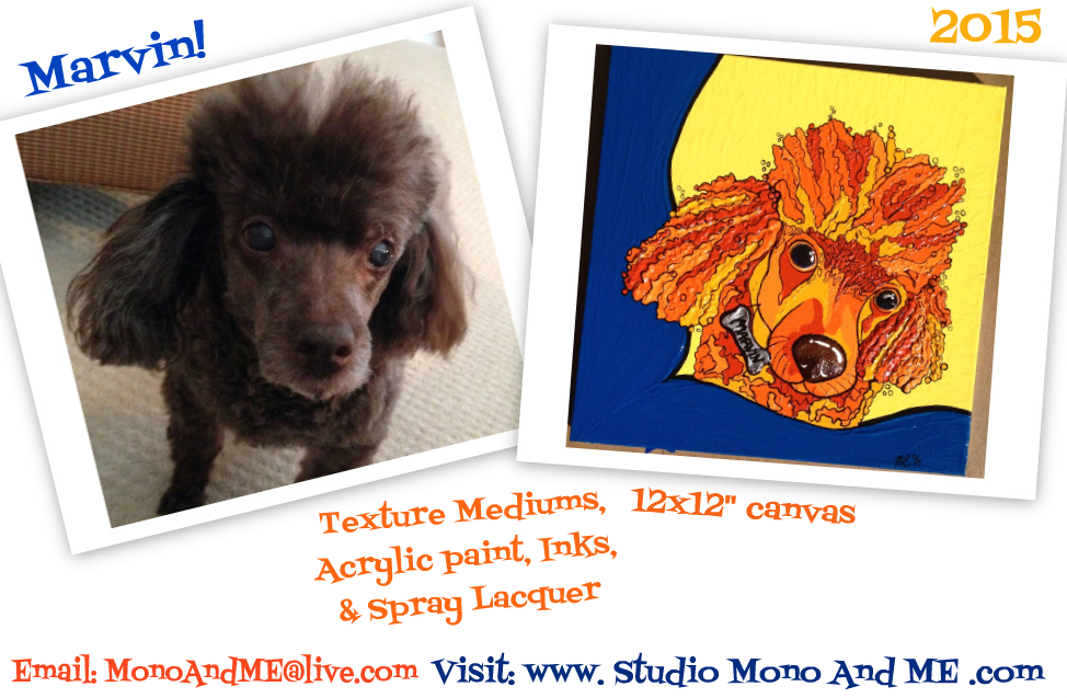 Marvin! Pet Portrait by MonoAndME