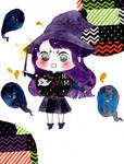 Little witch by Yoridesu