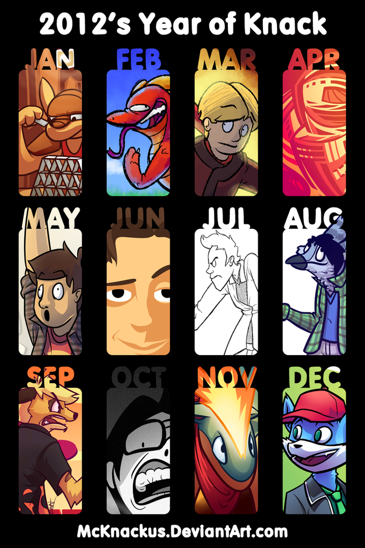 2012's Year Of Knack by McKnackus