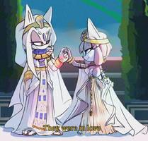 Angel and Empress E by LadySaitama