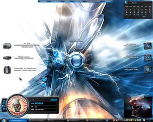 Blue::Desktop by BlackShaggy