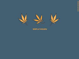 Simply this way by BlackShaggy