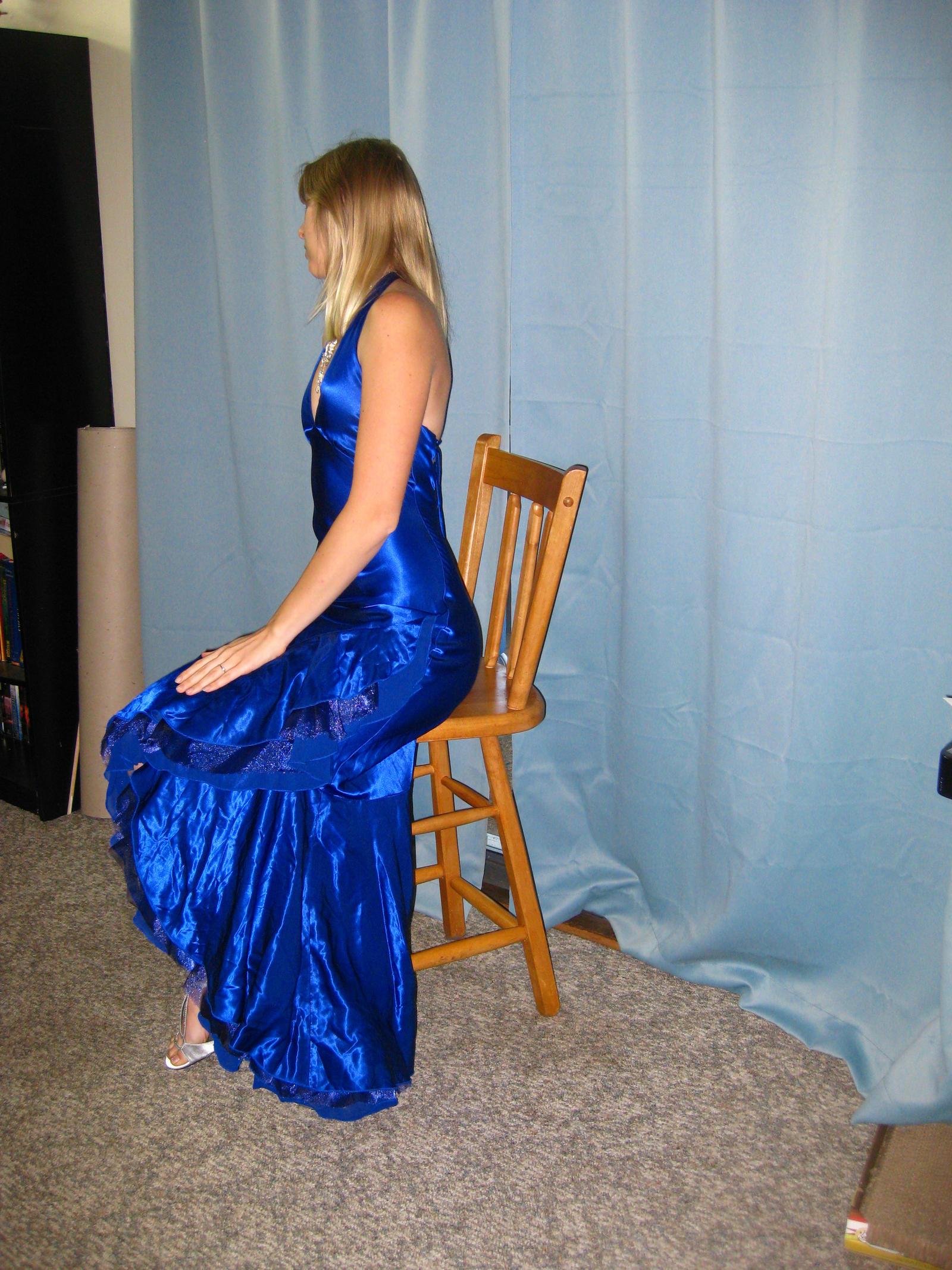 Elegant Blue Dress 18 by Danika-Stock