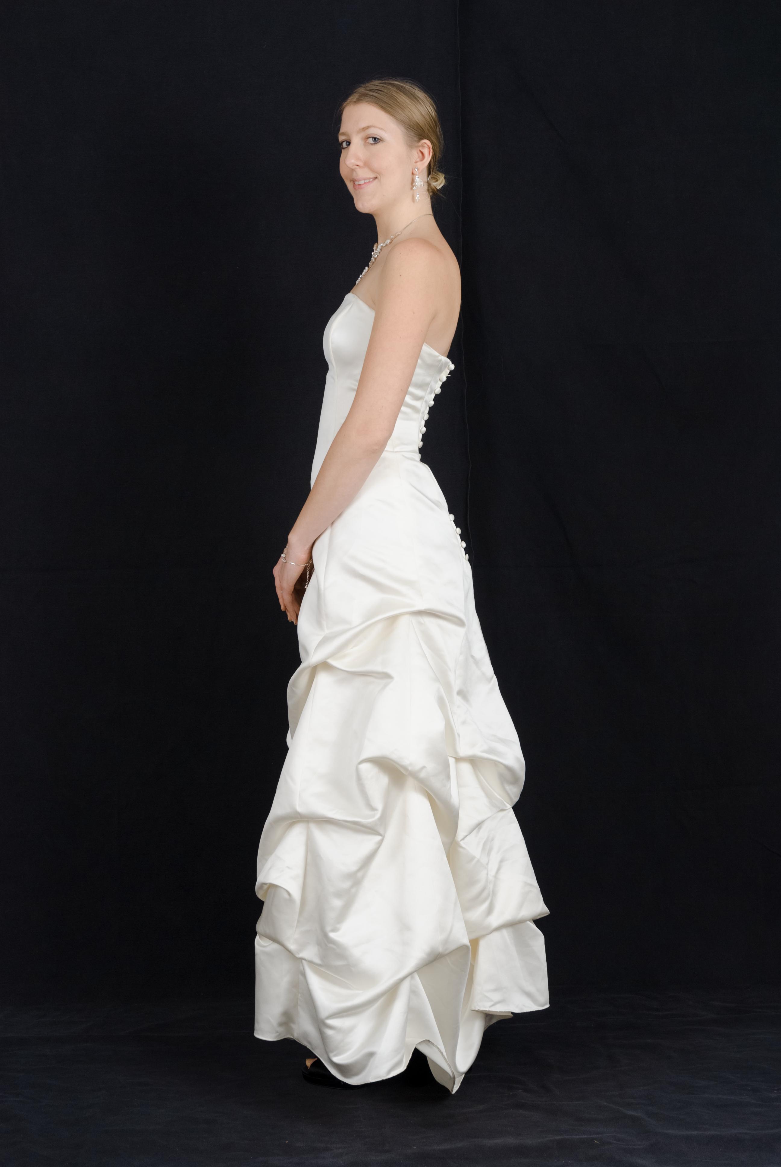 Wedding Dress Side Profile By Danika Stock On Deviantart