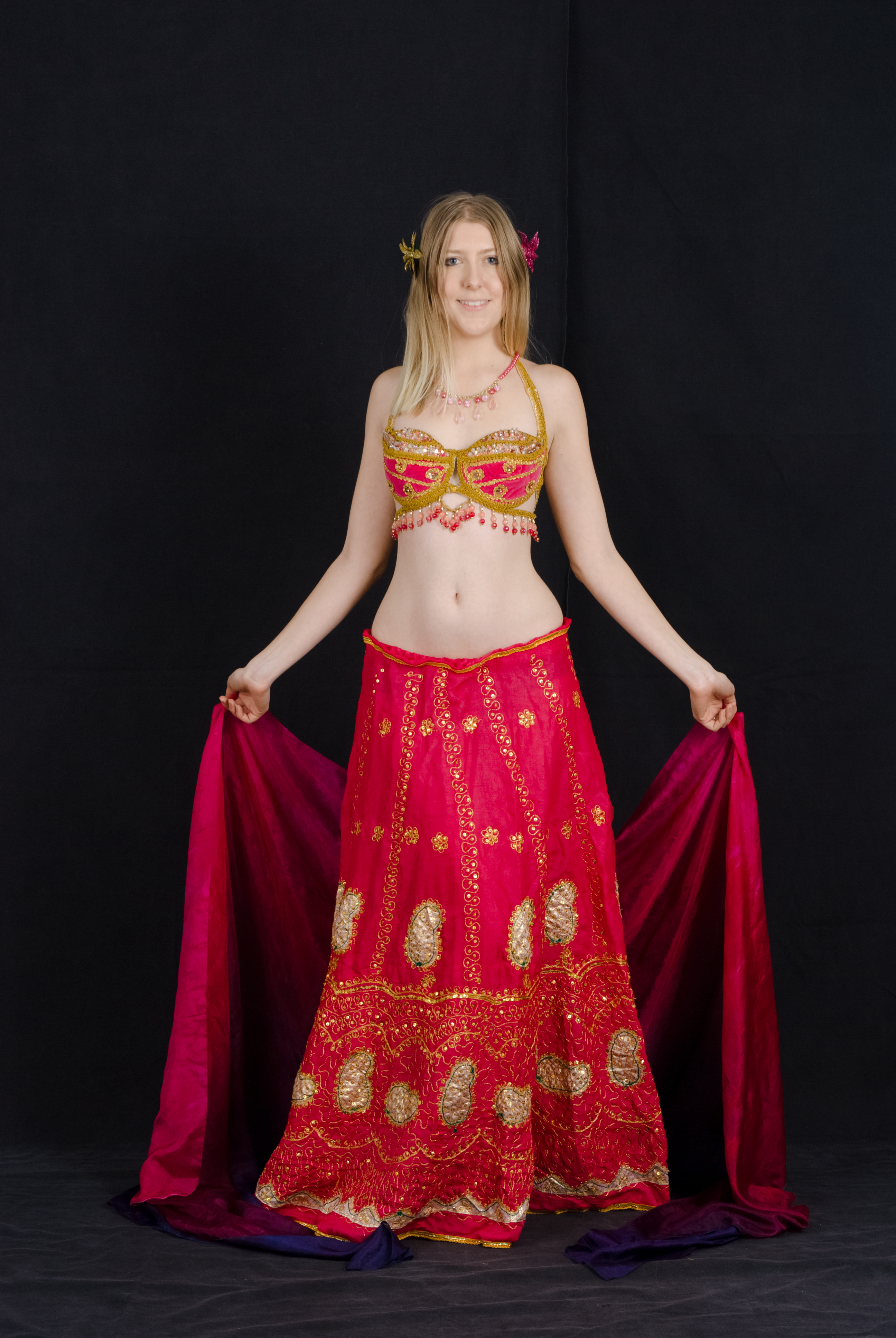 Belly Dance Stance by Danika-Stock