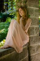 Pink dress by Danika-Stock