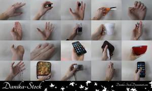 Hand Stock Pack by Danika-Stock