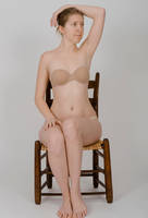 Body Reference - Sitting in Chair- Arm on Head by Danika-Stock
