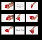 Holding Makeup Bag Hand Stock by Danika-Stock