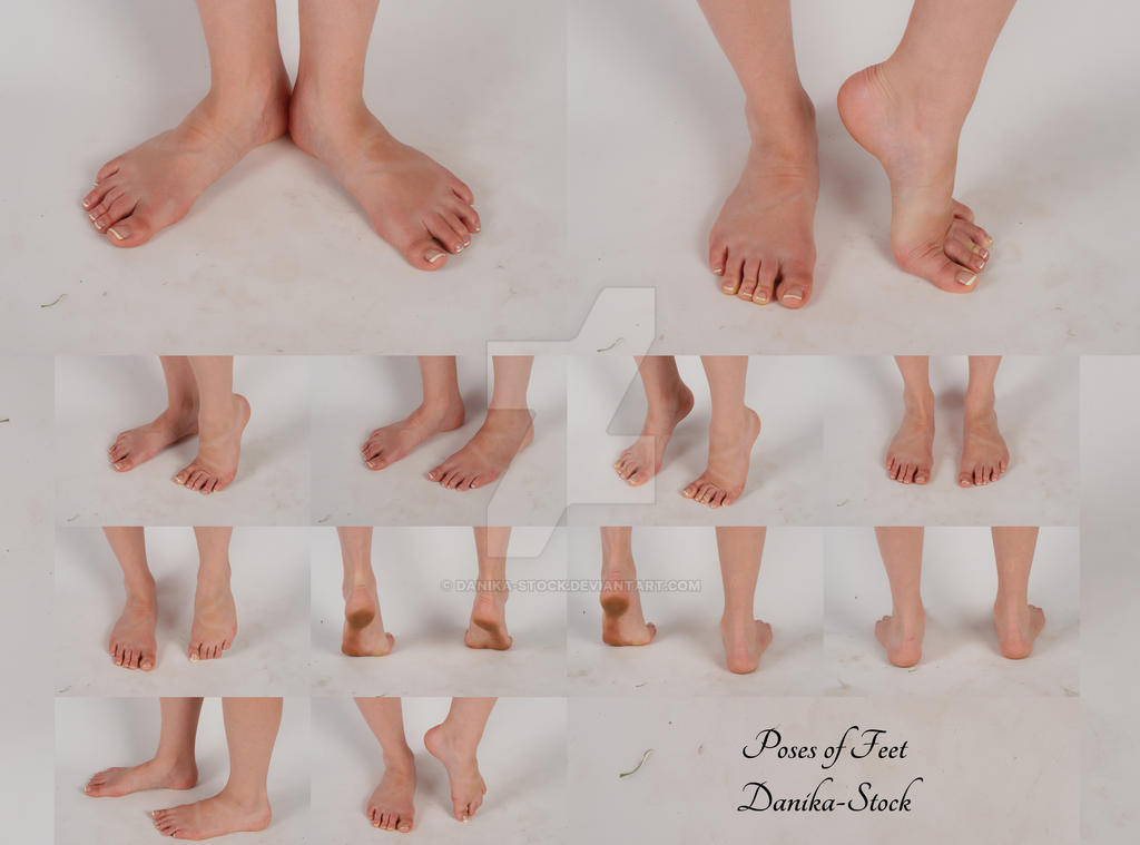 Feet Poses Stock Pack by Danika-Stock on DeviantArt
