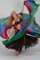 Belly Dancing Double Veil Stock by Danika-Stock