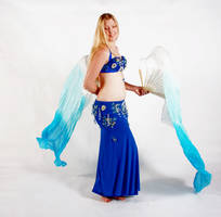Belly Dancing - Fan Veils - Side by Danika-Stock