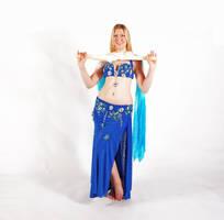 Belly Dancing - Fan Veils - Crisscross by Danika-Stock