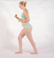 Body Reference - Action - Pwer Walking by Danika-Stock