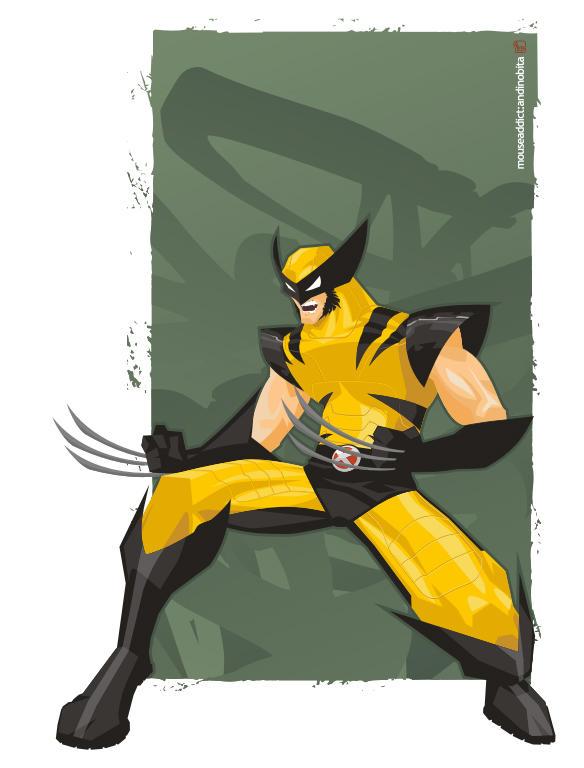 Wolverine by andinobita