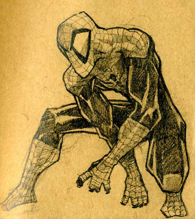 spidey by andinobita