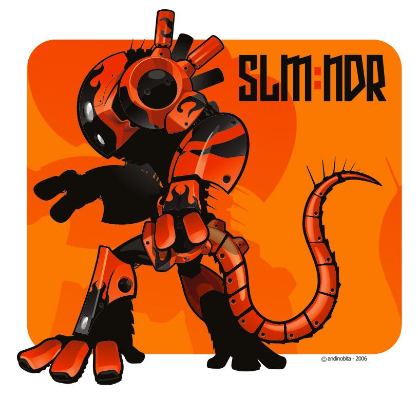SLMNDR by andinobita