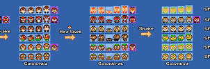 SMM2   Goombas, Galoombas, Goombrats and Goombuds!