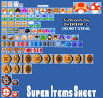 SMM:D | SMB1 Epic Items/Collectables Sheet
