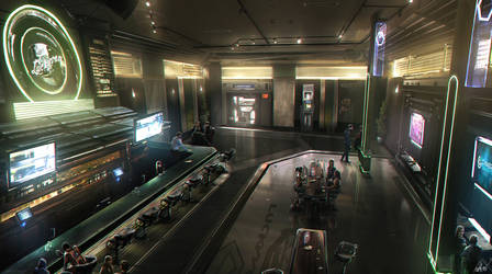 Star Citizen - Bar concept