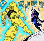 Joutarou and Dio (JoJo's Bizarre Adventure) by lilnoykhauz3