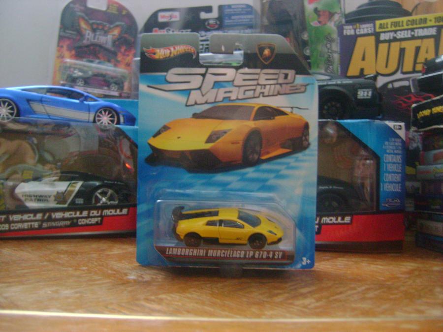 Hot Wheels 1 64 Lamborghini Murcielago Lp 670 4 Sv By Carzandtruckz
