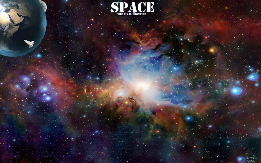 Space the final frontier by zxkdsxz on deviantart - Final space wallpaper ...
