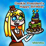 Cookie President's Happy Birthday by hong-hui-lin-shenmu