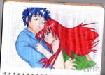 A hug by sasori-sanin