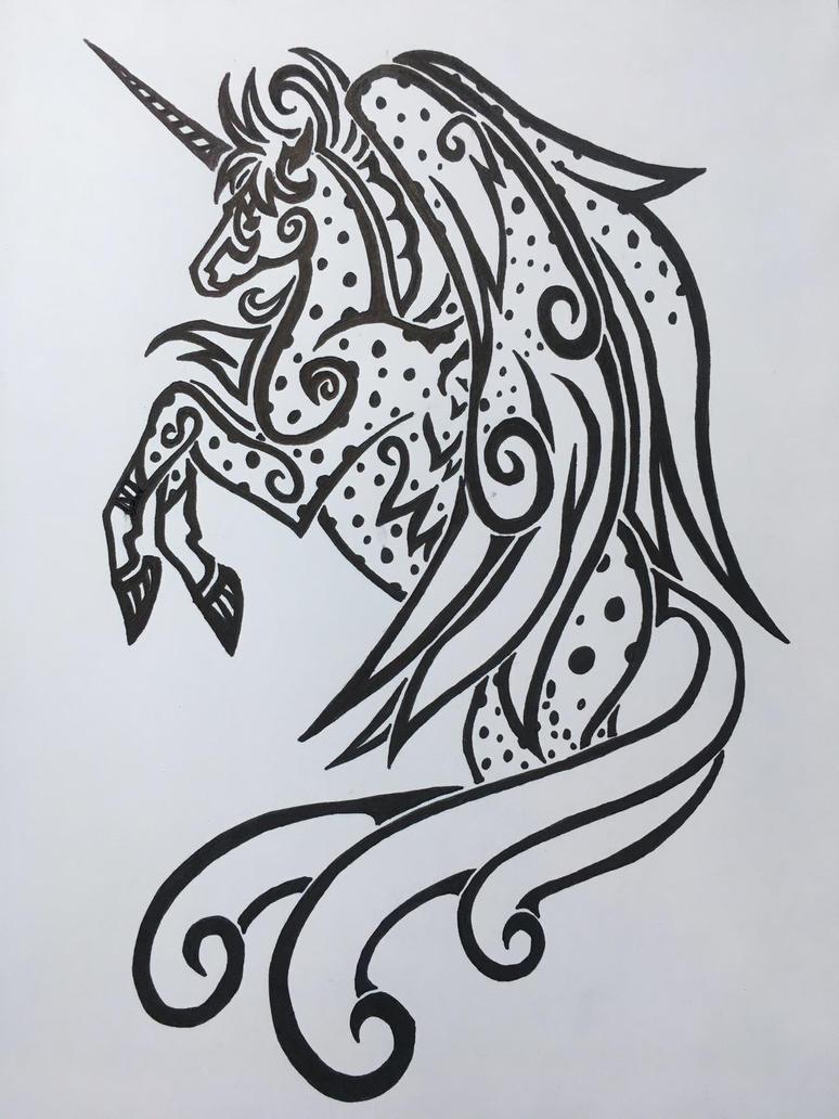 Alicorn Appy Tattoo Design  by roxasroxs